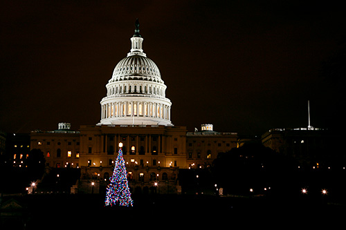 2007 Christmas Tree at the US Capitol