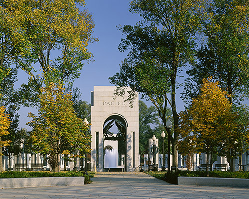 World War II Memorial Pacific Arch