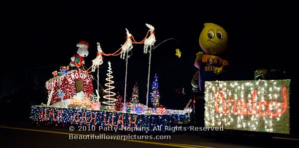 A Charlie Brown Christmas Parade In Holbrook Arizona