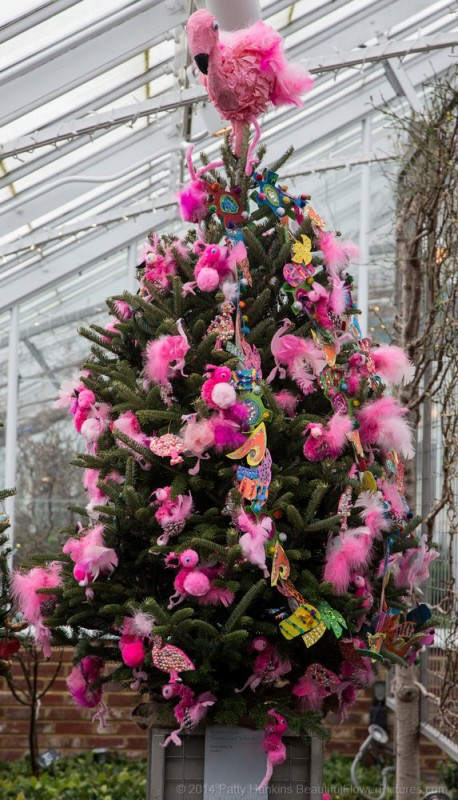 A Little Bit More Christmas In The Conservatory At