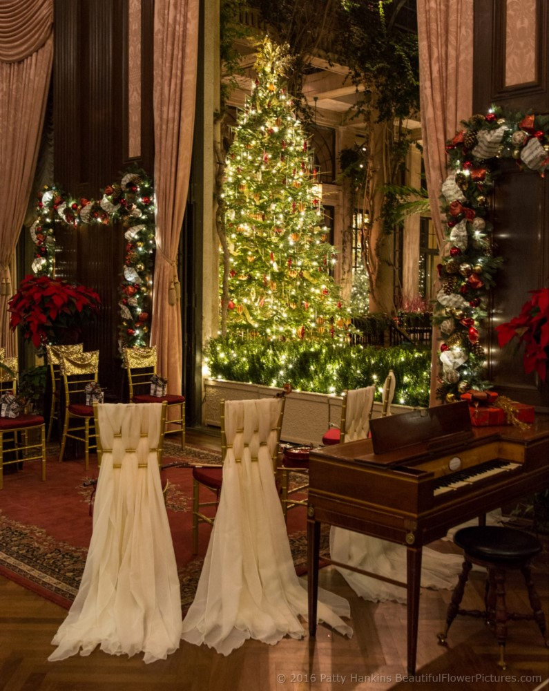 Christmas In The Music Room And Organ Room Longwood