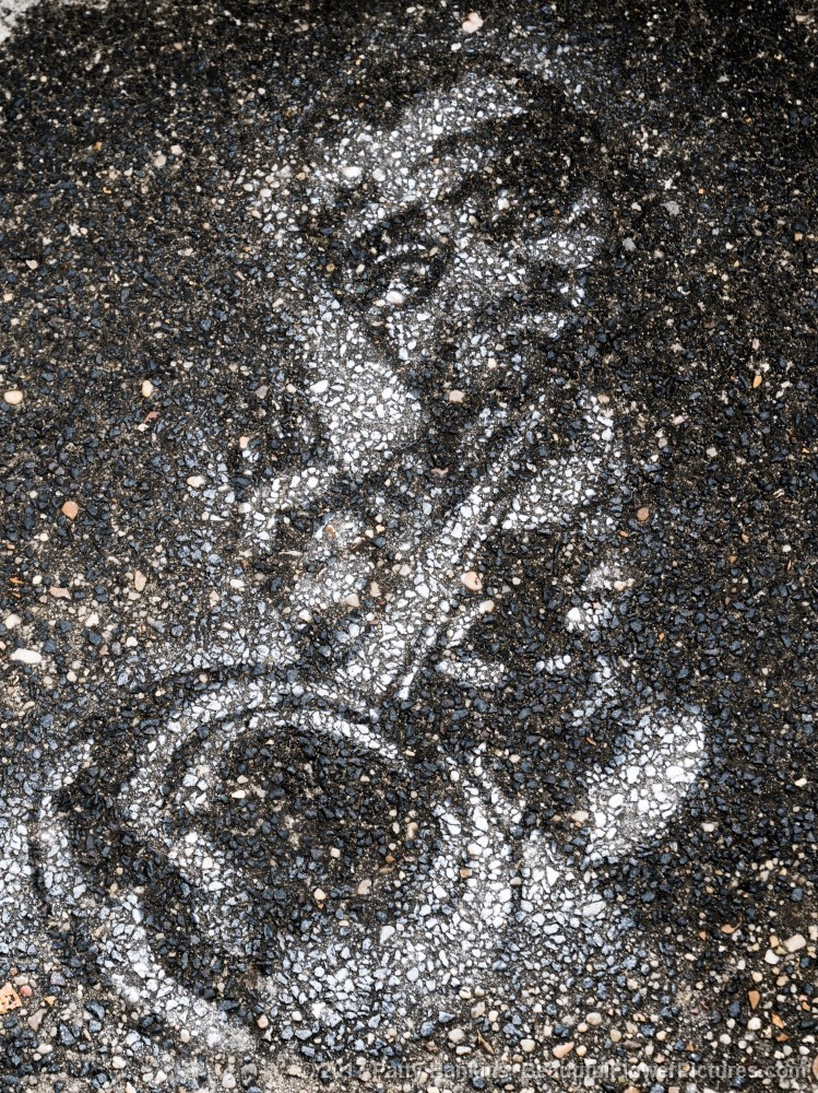 Louis Armstrong Grafitti at Armstrong Park, New Orleans © 2017 Patty Hankins