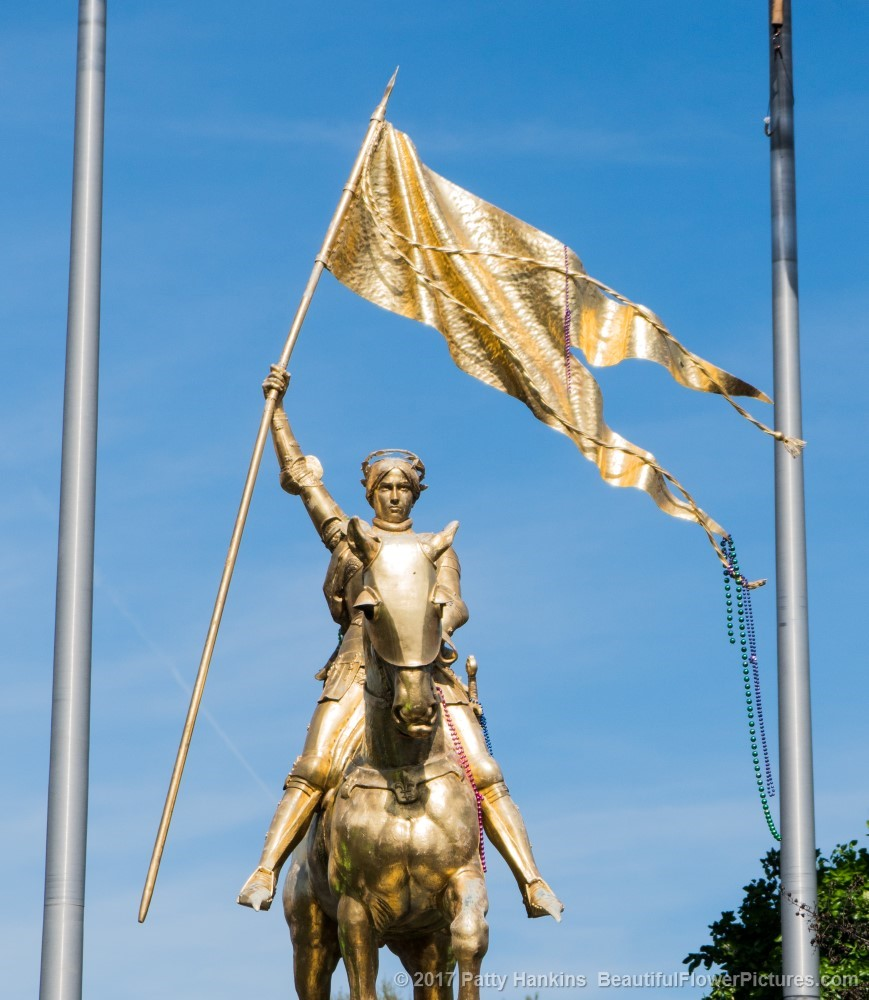 Joan of Arc Statute, New Orleans © 2017 Patty Hankins