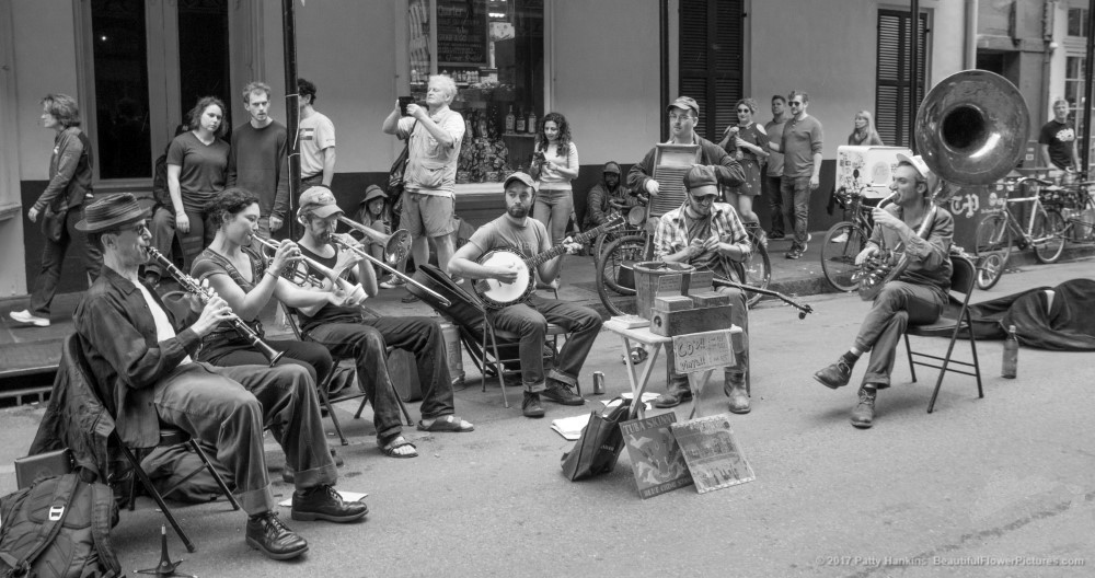 Musicians, French Quarter, New Orleans © 2017 Patty Hankins