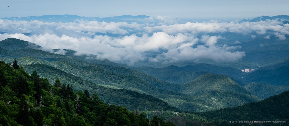 Mountains and Clouds at Woolyback Overlook © 2017 Patty Hankins