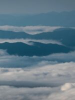 Mountains and Clouds at Clingman's Dome © 2017 Patty Hankins