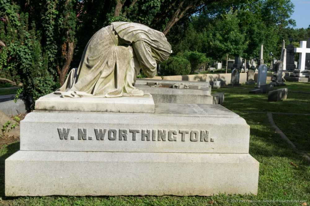 Worthington Grave, Hollywood Cemetery, Richmond, Virginia © 2017 Patty Hankins