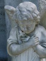 Angel At Metarie Cemetery in New Orleans, LA © 2017 Patty Hankins